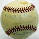 1962 Red Sox  Team Ball 7 JSA LOA