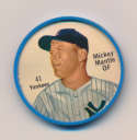1962 Salada Coins 41 Mickey Mantle NM