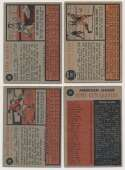 1962 Topps  342 assorted w/many stars & 17 high numbers VG-Ex