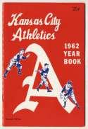 1962 Yearbook  Kansas City Athletics NM