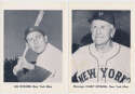 1963 NY Mets  Team Issue Set (9 diff) w/Stengel & Snider NM
