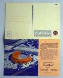 1963   Mets Shea Stadium Postcard 8 1/2 X 5 1/2 Ex-Mt