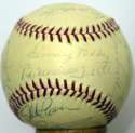 1963 AL All Stars  Team Ball 7