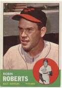 1963 Topps 125 Roberts Ex-Mt