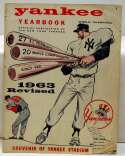 1963 Yearbook  New York Yankees (rev) Poor