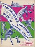 1964 Yearbook  Los Angeles Angels VG-Ex