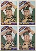 1966 Topps 36 Jim Hunter (lot of 10) 8.5