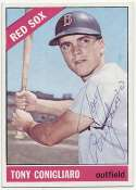 1966 Topps 380 Tony Conigliaro 9 JSA LOA (FULL)
