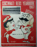 Program  1967 Reds Team Signed Yearbook (27 sigs!) 9.5 JSA LOA