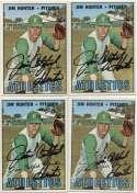 1967 Topps 369 Jim Hunter (lot of 10) 8.5