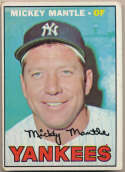 1967 Topps 150 Mantle VG+