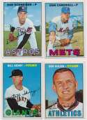 1967 Topps  30 different high #s VG-Ex