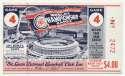 1967 Ticket  World Series Game 4 NM