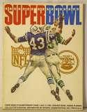 1969 Program  Super Bowl III Program Ex-Mt
