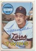 1969 Topps 375 Killebrew (vintage signed) 9.5