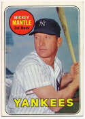 1969 Topps 500.1 Mantle  Ex+