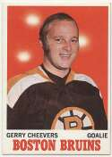 1970 Topps 1 Gerry Cheevers Ex-Mt+