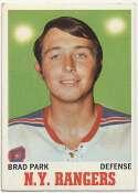 1970 Topps 67 Brad Park RC Ex