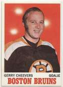 1970 Topps 1 Gerry Cheevers NM
