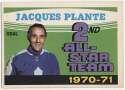 1971 OPC 256 Jacques Plante AS2 Ex-Mt
