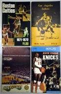1971 Program  1971-2 NBA Full Media Guide Run (16 pcs) Ex-Mt/NM