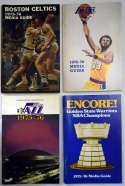 1975 Program  1975-6 NBA Full Media Guide Run (16 pcs) Ex-Mt/NM