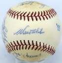 1973 Dodgers  Team Ball 8.5 (ONL Feeney) PSA DNA (FULL)