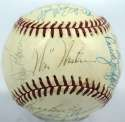 1974 Giants  Team Ball w/Bonds 7.5 (Feeney)
