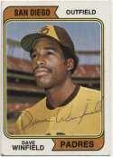1974 Topps 456 Winfield RC 9