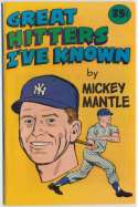 1976 Carvel  Mantle Great Hitters Ive Known Booklet NM
