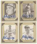 1976 Johnny Mize Story  Complete Set w/8 Signed Cards 9.5
