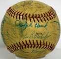 1976 Tigers  Team Ball 6