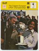 1977 Sportscaster 8511 The Colgate European LPGA Championship Lopez Nm-Mt