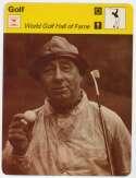 1977 Sportscaster 8423 World Golf Hall of Fame:  Walter Hagen NM