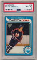 1979 Topps 18 Wayne Gretzky RC PSA 8 (superb)