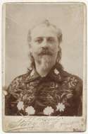 1890   Buffalo Bill Cody Cabinet Card VG