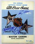 Program  HOFers Signed 1971 All Star Game Program 9.5