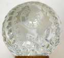 1980   Frank Malzone Red Sox Waterford Crystal w/signed Jean Yawkey Letter 9