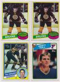 1980   Nine Rookies/Stars w/Bourque & Potvin RCs Ex