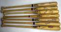 Collection of 16 different 1980s - 2000s Red Sox Single Signed Bats 9
