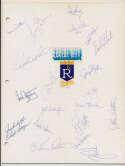 Team Sheet  1982 Mariners (19 w/Pinson) 9