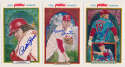 1983 Perez Steele Phillies 100th Anniversary  Collection of Phillies Postcards w/19 signatures incl. Carlton, Rose 9.5