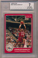 1984 Star 202 Charles Barkley RC BVG 7