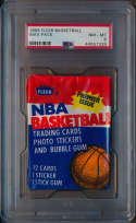 1986 Fleer  Unopened Pack PSA 8