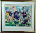 Large Print  1986 Giants Leroy Neiman Signed Serigraph 9.5