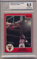 1986 Star Michael Jordan 7 Career Highlights BVG 6.5