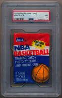 1986 Fleer  Wax Pack (Jabbar back) PSA 7
