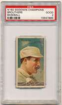 1887 N162 Goodwin Champions  Brouthers PSA 2
