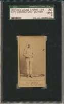 1887 N172 Old Judge  Van Haltren, Rip SGC 2