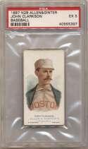 1887 N28 Allen & Ginter  Clarkson PSA 5